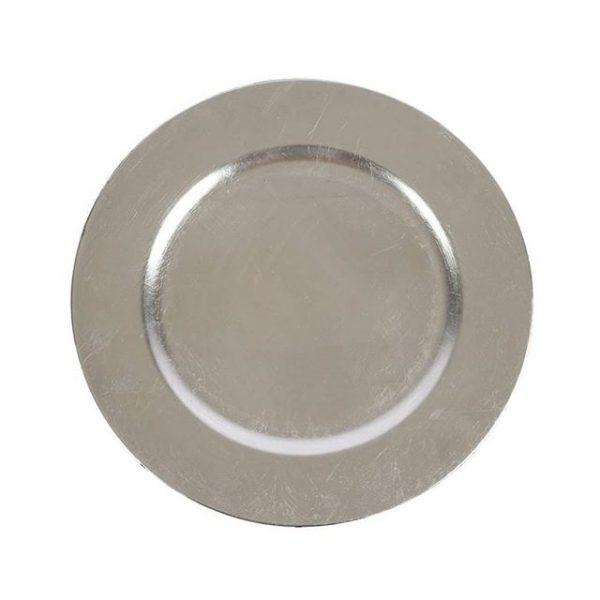 Underplate Silver Plain cm