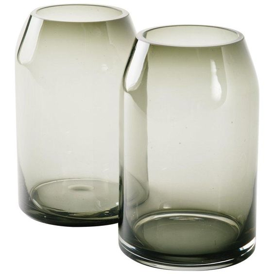 Vase Black Smokey