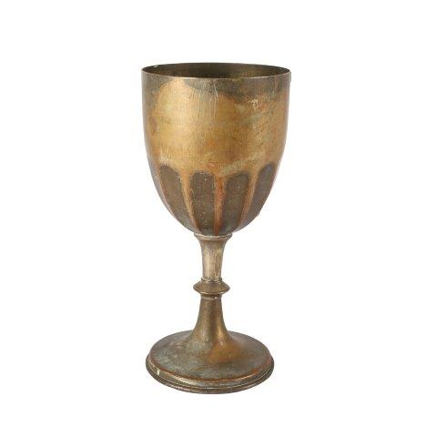 Vase Brass X large Goblet My Pretty Vintage Décor Hire wedding coordinating Paarl