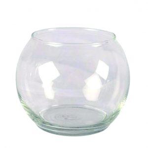 Vase Clear Fish Bowl Large