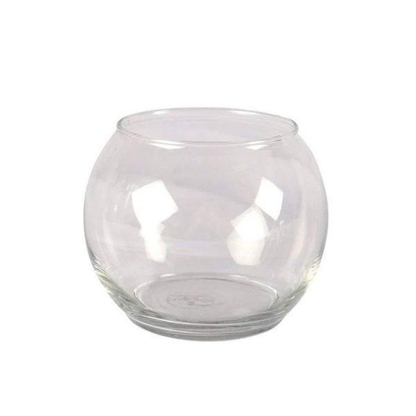 Vase Clear Fish Bowl Medium