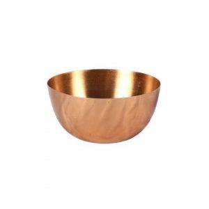 Vase Rose Gold Metal Bowl