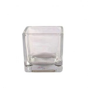 Vase Square Glass Small