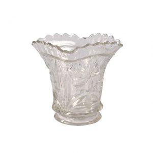 Vase Vintage Cut Glass Medium