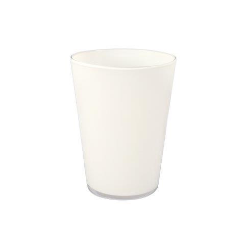 Vase White Milky S