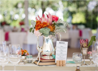 Vintage Table Arrangements