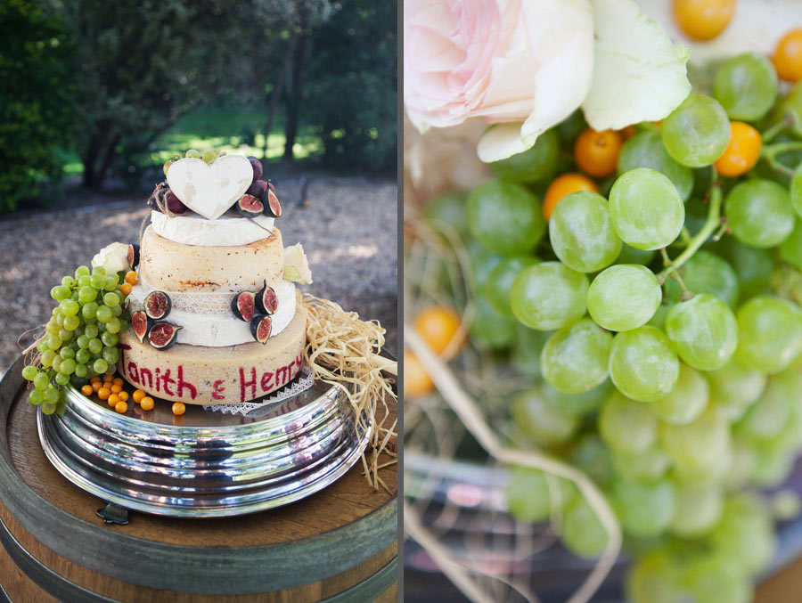 Wedding Cheese Tier Cake