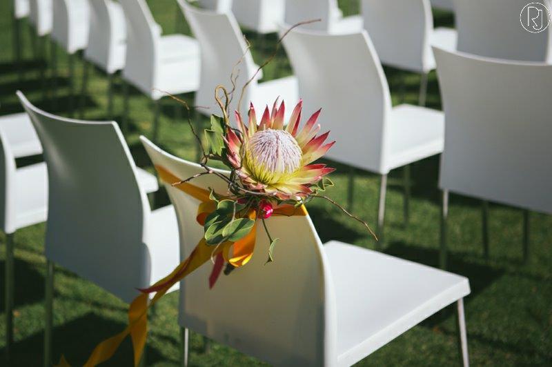 Wedding Flower Chair Seating