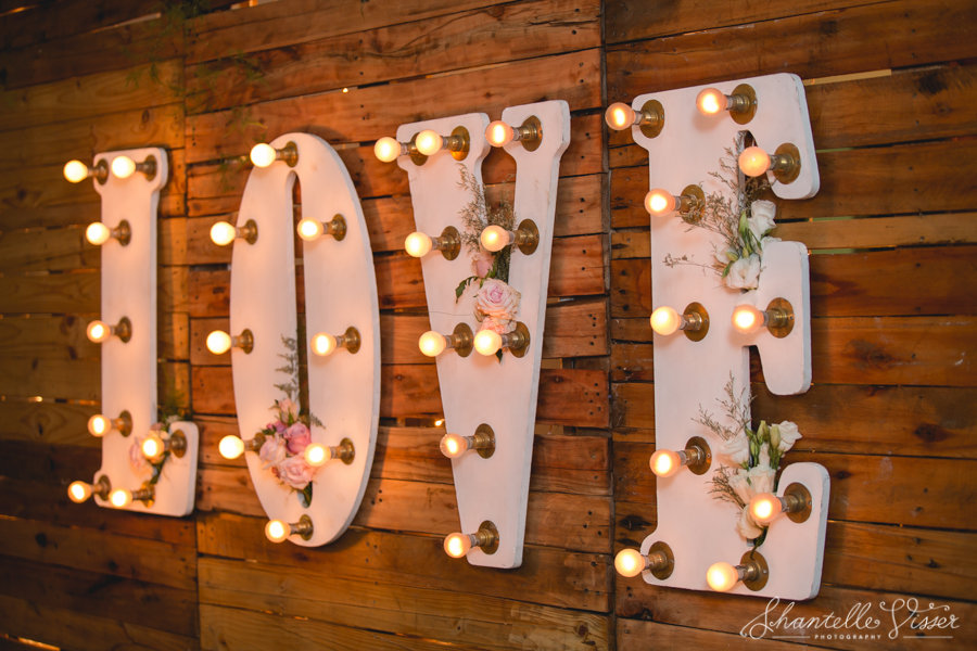 Wedding LOVE LED Night Lights