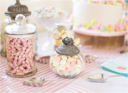 Wedding Vintage Sweetie Table Candy Cakes