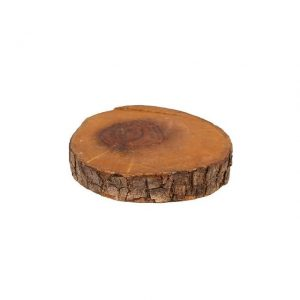 Wooden Slice Dark Wood X small cm