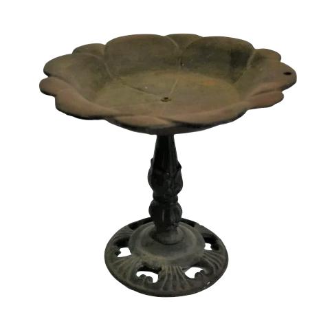 Cake Stand Tier Bronze Metal