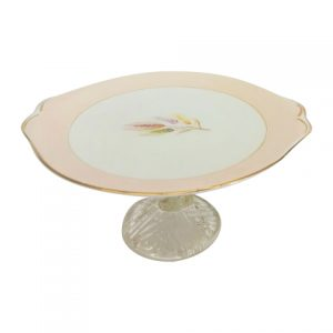 Cake Stand Tier Pastel Pink Wheat