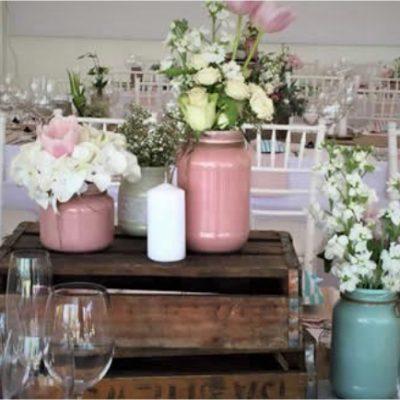 Floral Design Pastel Vintage Floral Decor