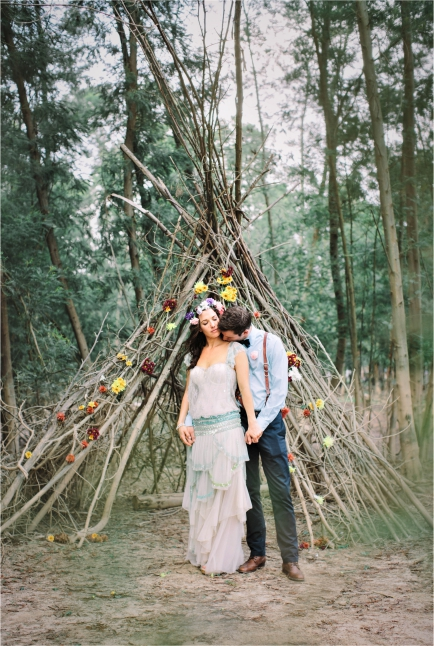 Floral Designs Bohemian Earthy Weddings