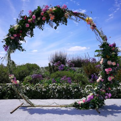 Floral Designs Giant Floral Altar Wreath