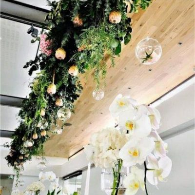 Floral Designs Hanging Decor Flowers And Foliage