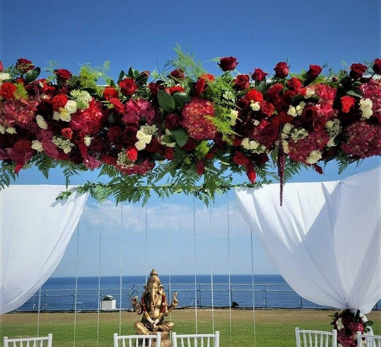 Floral Designs Indian Inispired Floral Gazebo