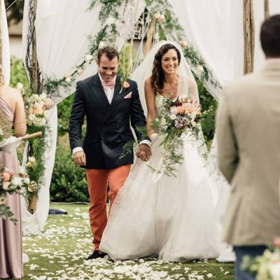 Floral Designs Vintage Style Wedding Panners