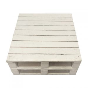 Furniture Pallet White Table
