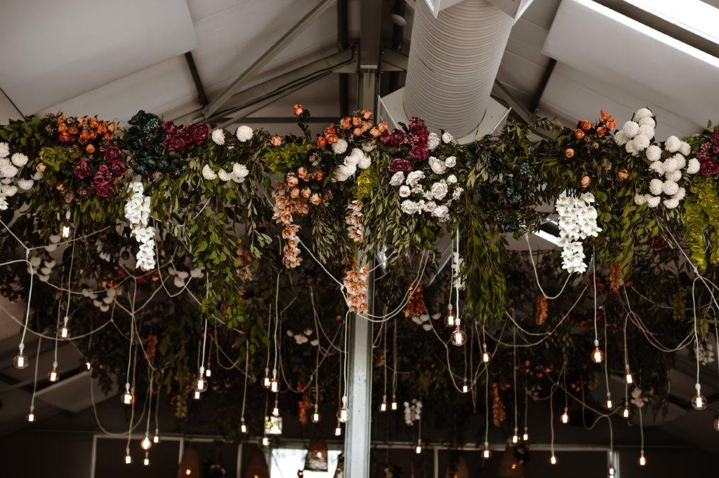 My Pretty Vintage Floral Wedding Hanging Arrangements