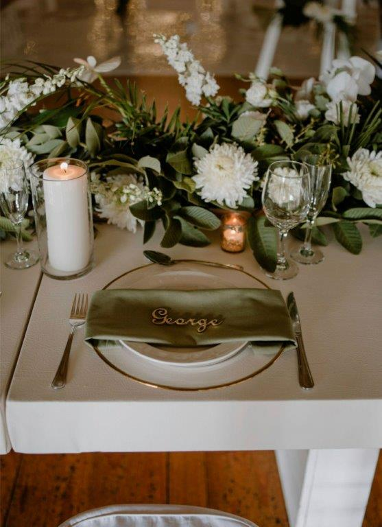 My Pretty Vintage Wedding Flowers Bridal Table And Centerpiece