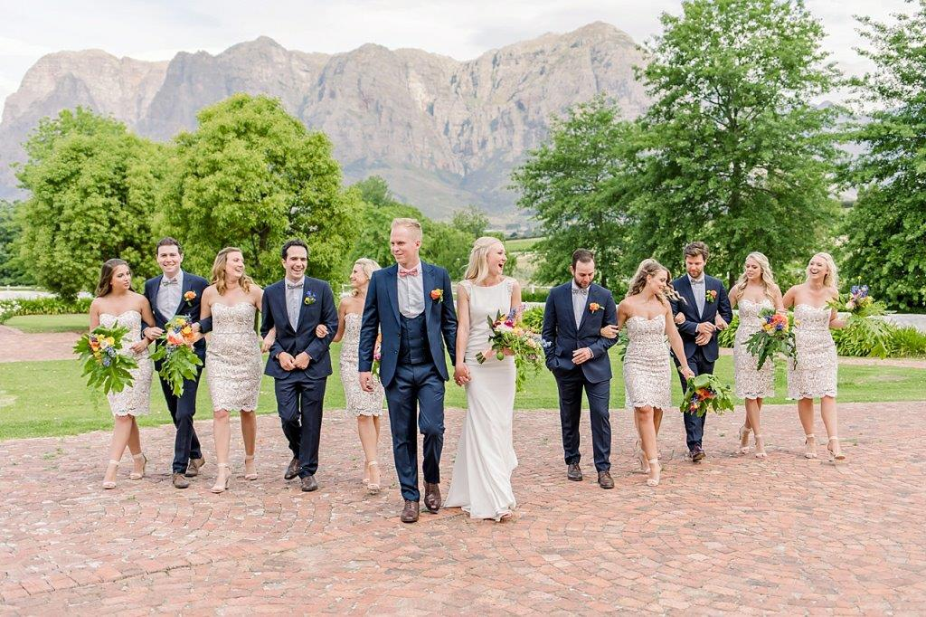 My_Pretty_Vintage_ Bridal_Party_Zorgvliet_Wine_Estate